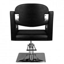 Hair system fotel fryzjerski sm308 czarny