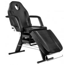 Fotel kosmetyczny basic 202 czarny
