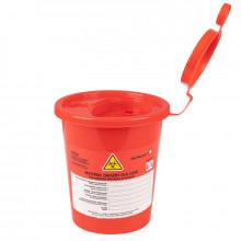 Pojemnik na odpady medyczne 0,7l czerwony
