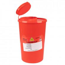 Pojemnik na odpady medyczne 2,0l czerwony