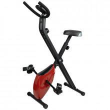 Rower treningowy x-bike składany czerwony
