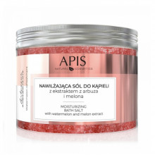 Apis arbuzowe orzeźwienie, sól do kąpieli nawilżająca z ekstraktem z arbuza i melona, 650g