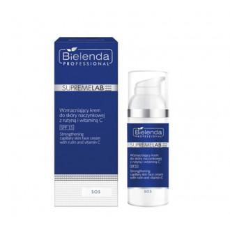 BIELENDA S.O.S Wzmacniający krem do skóry naczynkowej z rutyną i witaminą C SPF 15 50ml