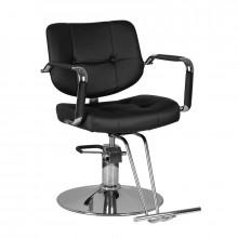 Gabbiano fotel fryzjerski vigo czarny