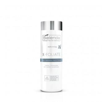 BIELENDA X – FOLIATE Anti Wrinkle Tonik kwasowy do skóry dojrzałej 200ml