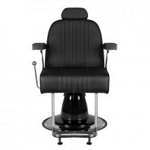 Gabbiano fotel barberski gino czarny