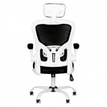 Fotel biurowy max comfort 73h biało - czarny
