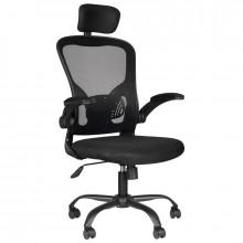 Fotel biurowy max comfort 73h czarny