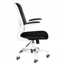 Fotel biurowy comfort 73 biało - czarny