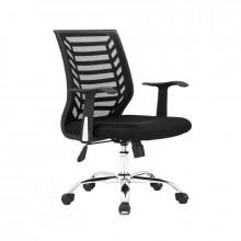 Fotel biurowy eco comfort 02 czarny