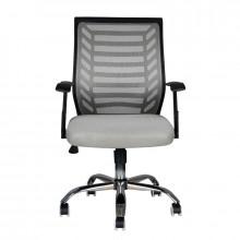 Fotel biurowy eco comfort 02 czarno - szary