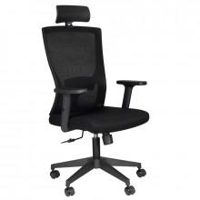 Fotel biurowy comfort 32h czarny
