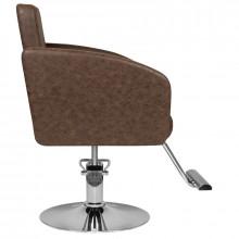 Hair system fotel fryzjerski hs40 brązowy