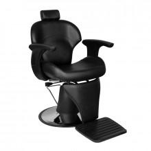 Gabbiano fotel barberski igor czarny