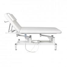 Leżanka elektr. do masażu 079 1 siln. biała