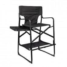 Krzesło do makijażu składane al124 czarne