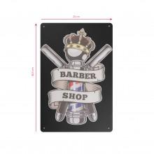 Tablica ozdobna barber b015