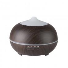Aroma dyfuzor nawilżacz powietrza spa 06 dark wood 400ml + timer