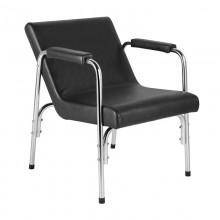 Gabbiano fotel do myjni fryzjerskiej gb1004a czarny