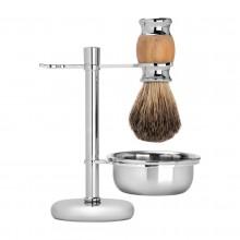 Barberski zestaw do golenia taras h-07 chrom