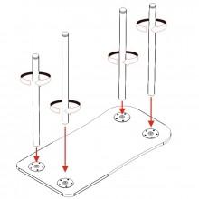 Składany stolik do manicure sk01