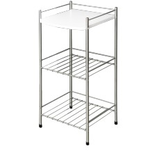 Stolik Opal - 1 półka / 2 grille