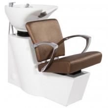 Gabbiano myjnia fryzjerska sevilla ciemny brąż